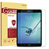 OMOTON Samsung Galaxy Tab S2 8.0 Glass Screen Protector, Tempered-Glass Protector with [9H Hardness] [Crystal Clear] [Scratch-Resistant] [No-Bubble Installation], For Wi-Fi Version SM-T710 ONLY