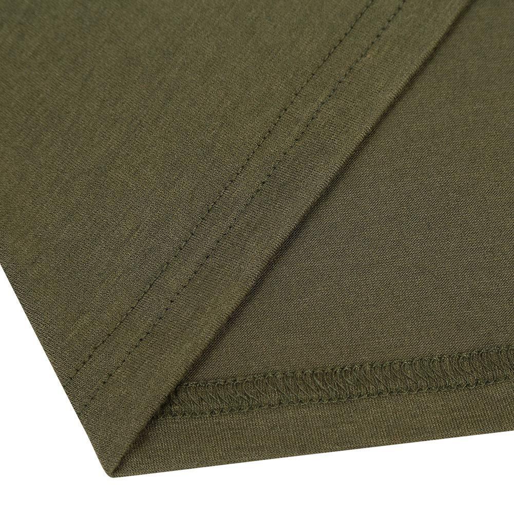 GloryStar Women Long Sleeve Pullover Hoodie Dress Stripe Pocket Ankle Length Slim Sweatshirt Casual Hooded Sweater Dresses