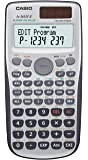 CASIO FX-3650PII-W-EH - Calculadora programable, 12 x 78 x 157 mm, gris