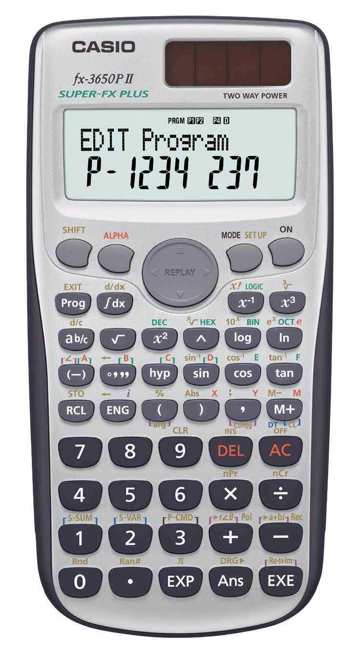 Casio 137224 Calcolatrice Scientifica