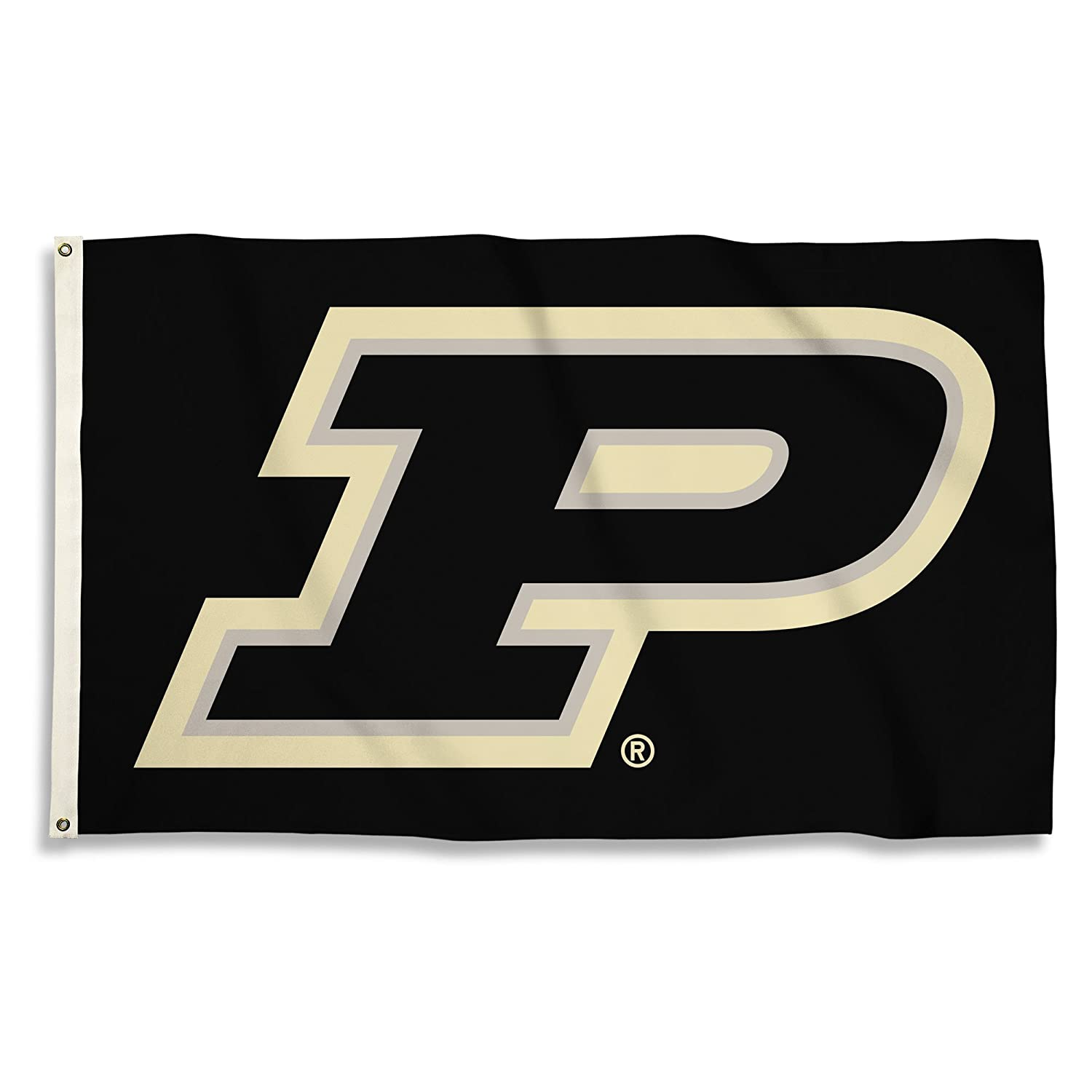BSI PRODUCTS, INC. - Purdue Boilermakers 3'x5' Flag with Heavy-Duty Brass Grommets - PU Football, Basketball & Baseball Pride - High Durability - Designed for Indoor or Outdoor Use - Great Gift Idea