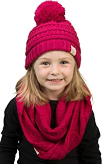 4eb92906e51 Funky Junque Girls Boys Infinity Scarf Matching Hat Beanie Tail Headwrap  Bundle