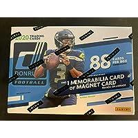 2020 Donruss Blaster Football Box NFL 88 Cards Per Box 1 Memorabilia Card or Magnet… photo
