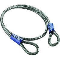 Schlage Cable de Seguridad Flexible de 3/8 Pulgadas con Bucle de Acero