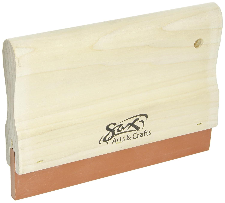 Sax 70 Durometer Urethane Silkscreen Squeegee - 8 inches School Specialty 409707