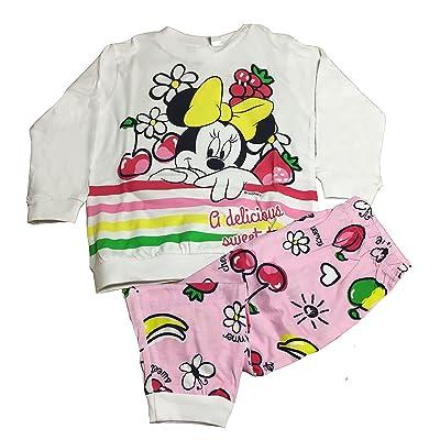 DISNEY - Ensemble de pyjama - Bébé (fille) 0 à 24 mois blanc Bianco