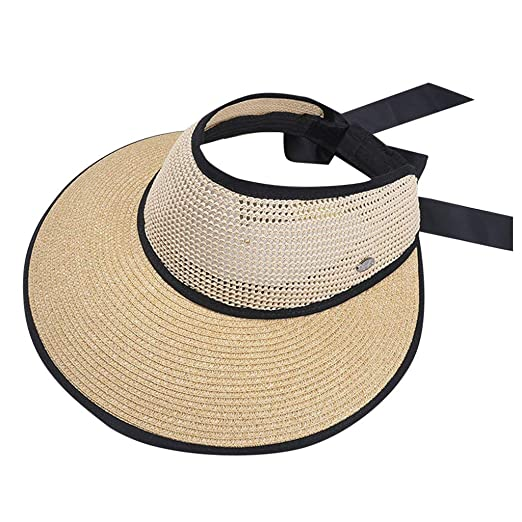 fcfd0210b6874 Benficial Women Casual Wide Brimmed Foldable Solid Summer Sun Beach Hat Big  Brim Breathable Mesh Hat
