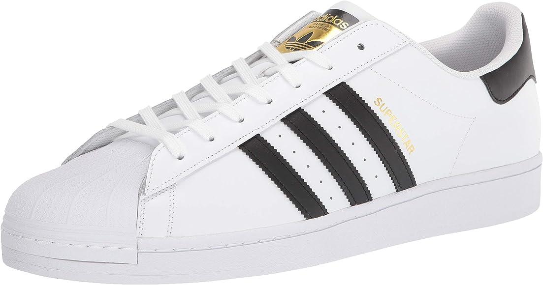 white men's adidas sneakers