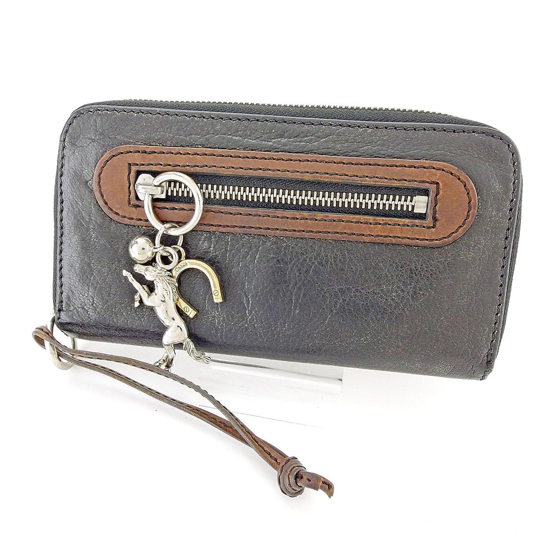 [クロエ] Chloe 長財布 財布 ラウンドファスナー レディース メンズ 可 ケララ 中古 訳あり T5755 B0791GCRRC