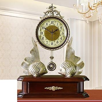 Europische Antike Wohnzimmer Clock Grosse Messing Uhr Ruhige Villa Dekoration Schlafzimmer