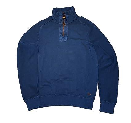 HUGO BOSS Orange - Camisetas y sudaderas - Sudaderas cremallera - de color Azul - de