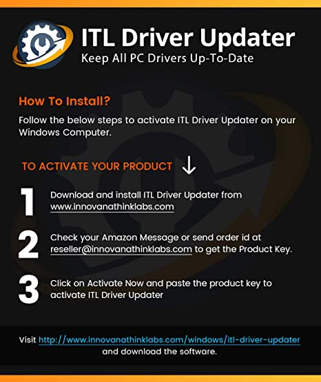Amazon Com Itl Driver Updater For Windows 10 8 7 Audio Video Printer Games Driver Fix Get Key In Email Read Inst Download No Cd