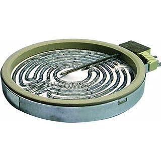 Spares2go cerámica placa elemento para Beko Horno Cocina Encimera–1700W/180mm Fitment List A