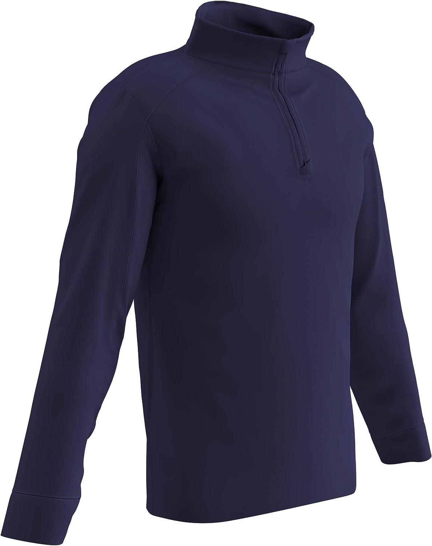 1//4 CHAMPRO Element Micro-Flex Quarter Zip Pullover Warm Up Jersey