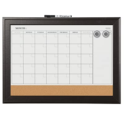 Magnetic Whiteboard Calendar & Cork Board