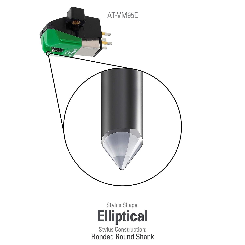 Audio-Technica at-VM 95 E - Fonocaptor: Amazon.es: Instrumentos ...
