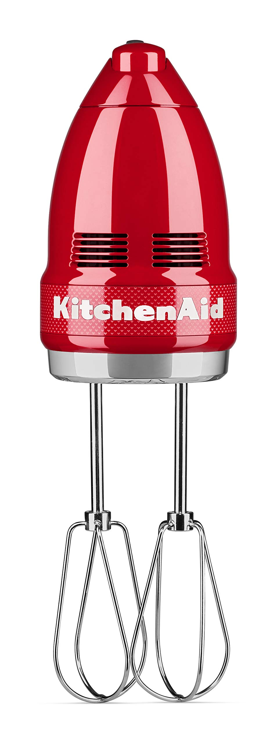 KitchenAid KHM7210QHSD 100 Year Limited Edition Queen of Hearts Hand Mixer, 7 Speed, Passion Red by KitchenAid (Image #2)