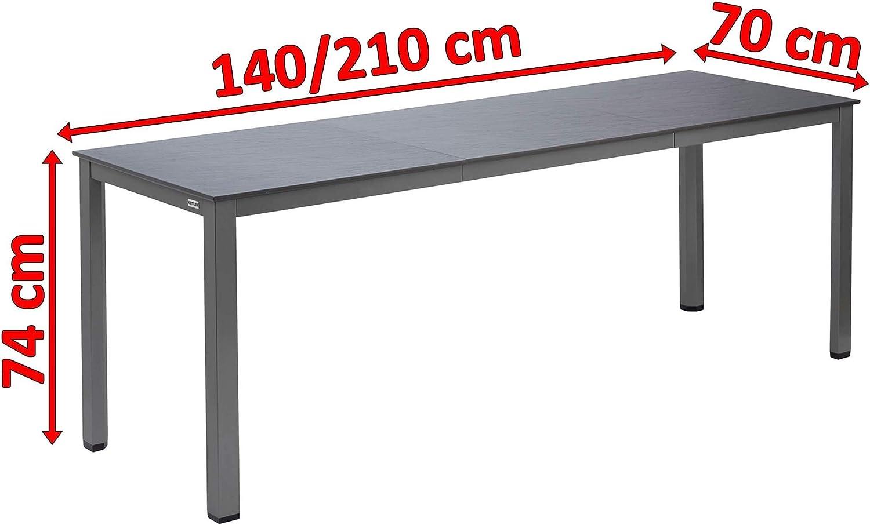 Kettalux Plus Aluminium Dining Table Rectangular Table Top ...