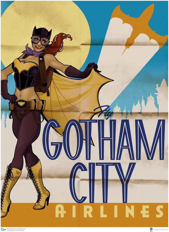 DC COMICS BATMAN /& ROBIN série tv Movie Poster Pin up