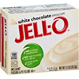 Jell-O White Chocolate Instant Pudding Mix 3.3 Ounce Box