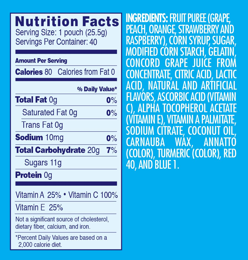 Welch's Mixed Fruit Snacks, 0.9 Ounce (40 Count) by Welch's (Image #6)