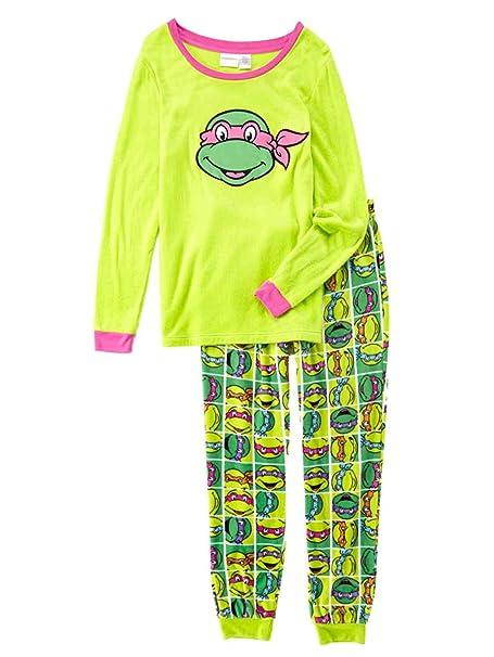 TMNT Womens Green Fleece Teenage Mutant Ninja Turtles ...