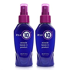 It's a 10 Haircare Miracle Leave-in Product, 4 fl. oz. (Pack of 2)