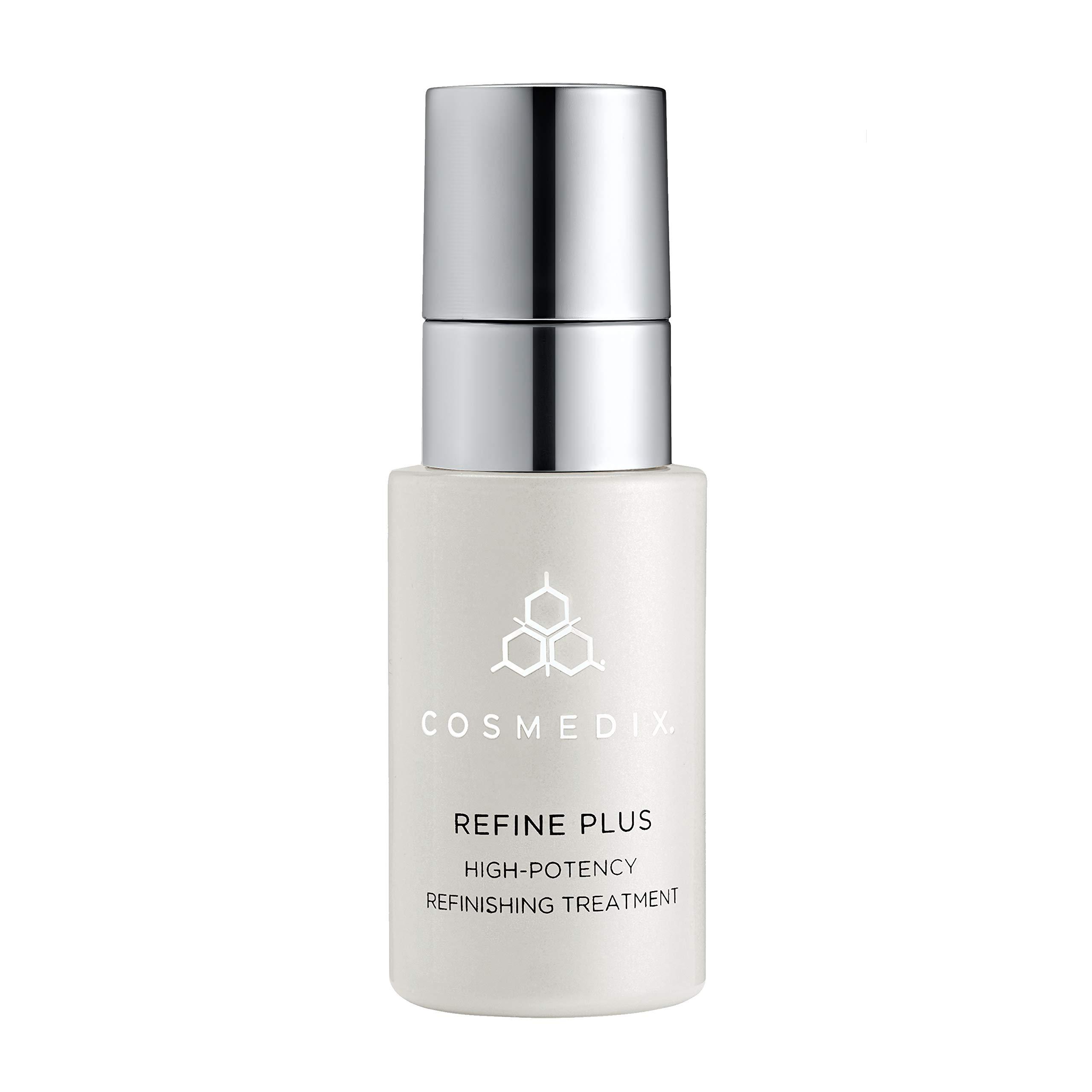 COSMEDIX Refine Plus High-Potency Refininshing Treatment, Anti Wrinkle Under Eye Serum, 0.5 Fl Oz