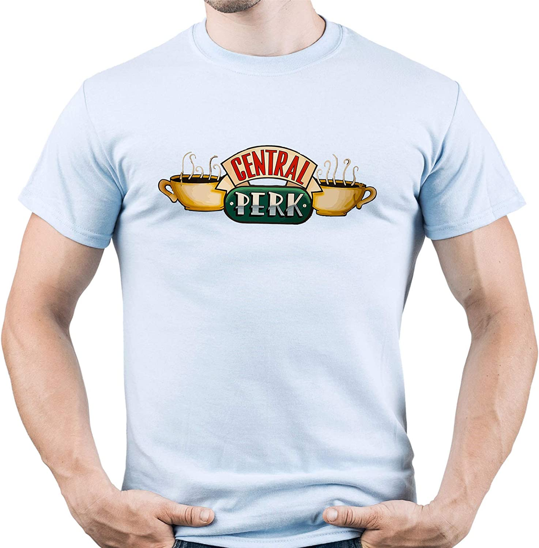 EUGINE DREAM Central Perk Camiseta para Hombre: Amazon.es: Ropa y accesorios