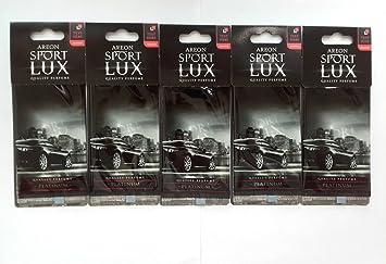 Areon Sport Lux Qualität Parfum Köln Karton Auto Lufterfrischer Platinum X 5 Auto