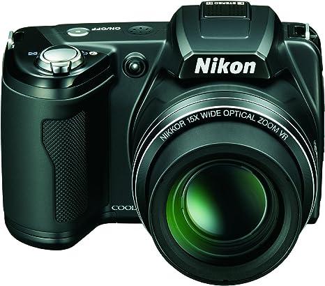 Nikon Coolpix L110 - Cámara compacta de 12.1 MP (Pantalla de 3 ...
