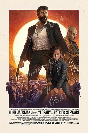 Amazon.com: Póster de la película carteles USA – Logan ...