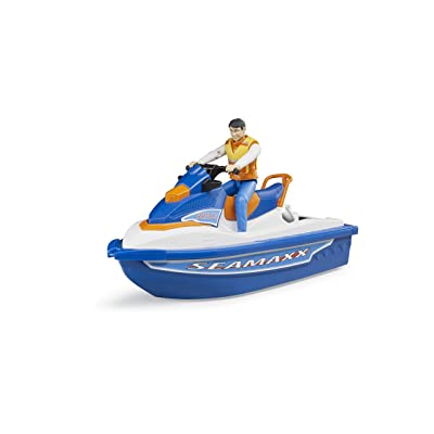 bruder 63150 Personal Water Craft with Driver Vehicles - Toys: Toys & Games