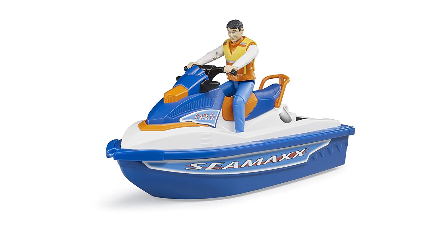 Bruder Personal Water Craft with Driver Vehicles-Toys 63150