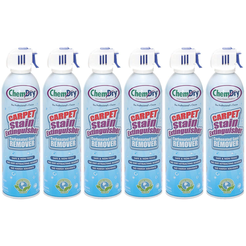 Chem-Dry Carpet Stain Extinguisher - 18 oz.- 6 pack