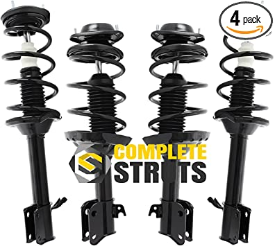 Suspension Strut and Coil Spring Assembly Front Right fits 98-02 Subaru Forester