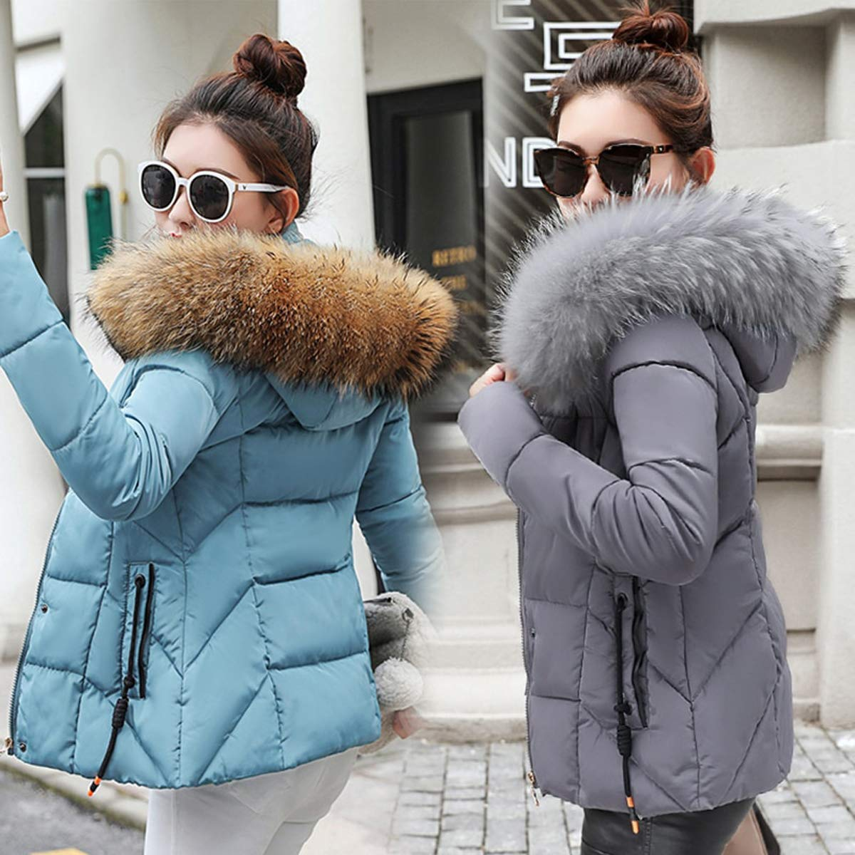 VYVERN Winter Jacket Women Parkas for Coat Fashion Female ...