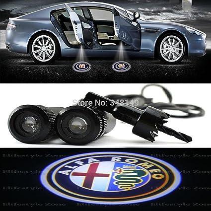 Car Passion Focos Proyectores Led para El Bajo de Las Puertas con ...