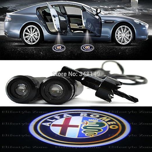 8 opinioni per car passion LED ALFA Luci Proiettori Sottoporta LED Portiera Logo Luce Cortesia