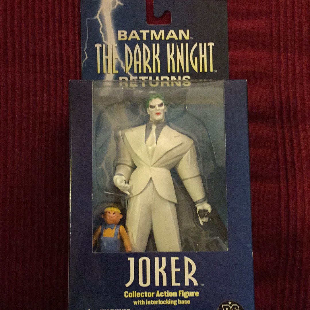 DC Comics Batman The Dark Knight Returns The Joker Action Figure