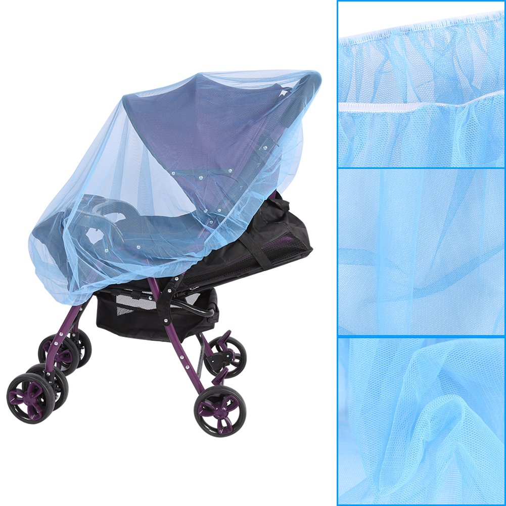 Baby Infant Carrier Netting Mosquito Net for Stroller Bassinets Pushchairs Crib Baby Cart Full Cover Mosquito Net Acogedor Pram /& Pushchair Insect Net Universal Insect Net White 5 Colors