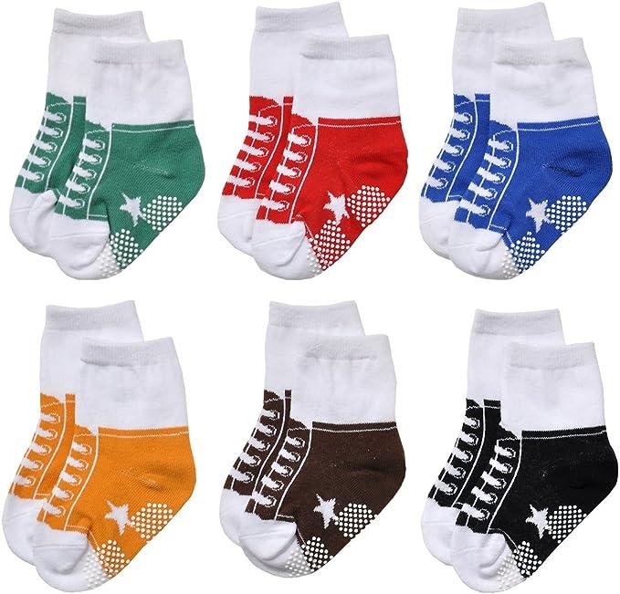 Epeius Unisex Baby Girls Boys Non-Slip Socks