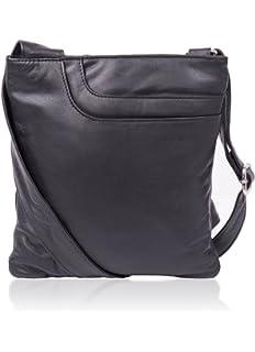Women s Alexis Soft Grained Leather Cross Body Pocket Bag w Tassel Detail 17866d51f6a7b