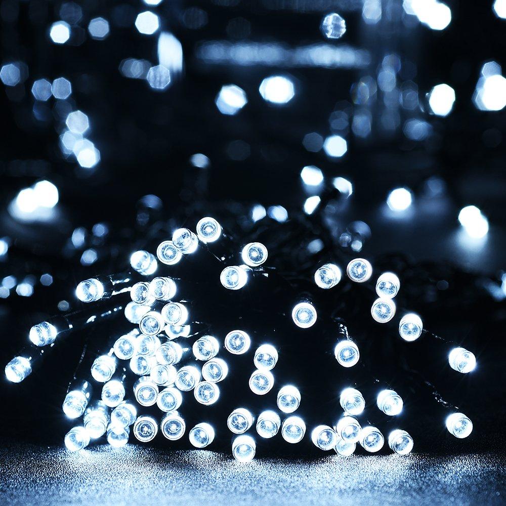 Litom catena luminosa ghirlanda luci della stringa solare 200 led ...