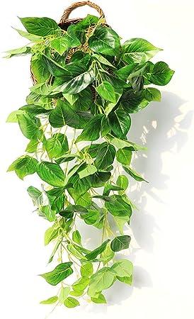 JUSTOYOU - Guirnalda de flores artificiales para colgar en la pared o en el hogar, jardín, boda, decoración exterior, 1 unidad: Amazon.es: Hogar