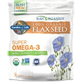Garden of Life Raw Organic Ground Flaxseed with Lignan and Polyphenol, 14 oz Pouch