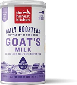 The Honest Kitchen Instant Probioitic Goat's Milk for Cats and Dogs