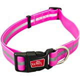 Reflective, Waterproof, Stink Free, Adjustable and Durable Collar For Dogs - 2 Year Warranty