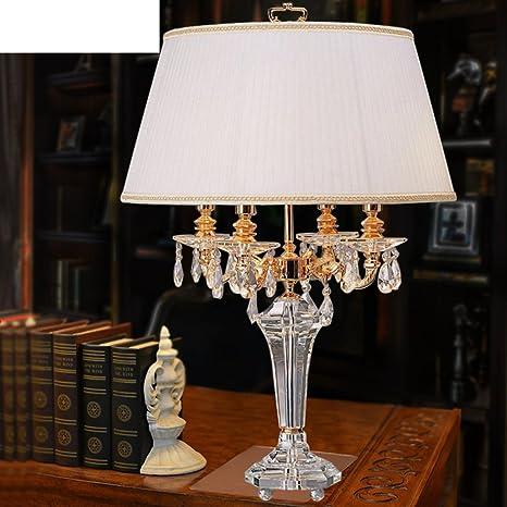 Amazon.com: Lámpara de mesita de noche recámara lámparas de ...