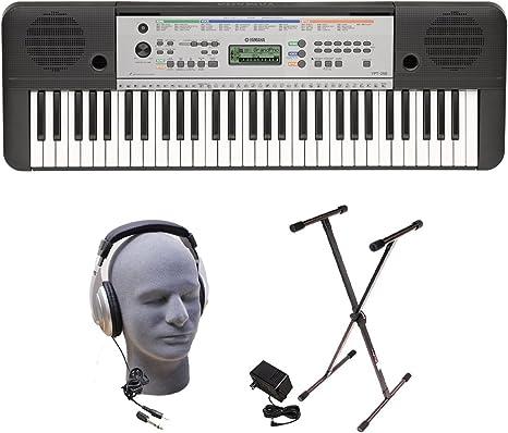 Yamaha YPT255 61-Key Keyboard Pack
